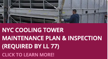 NYC Cooling Tower Maintenance Plan & Inspection (Required by Local Law 77) Button