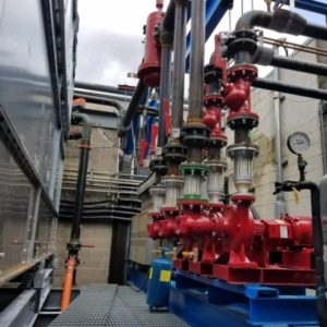 Turn-key Cooling Tower Replacement for Electronics Store