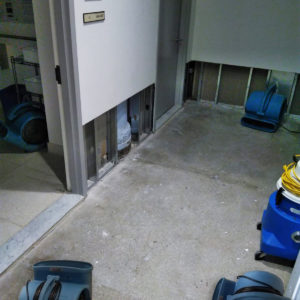 Emergency waste water clean up and air quality testing