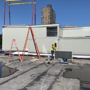 Donnelly Mechanical HVAC Installation - Manhattan College