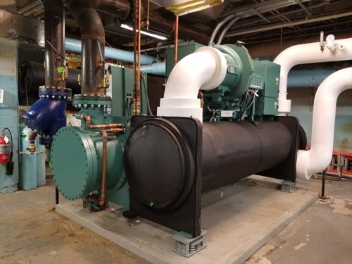 Commercial HVAC R-22 coolant conversion NYC