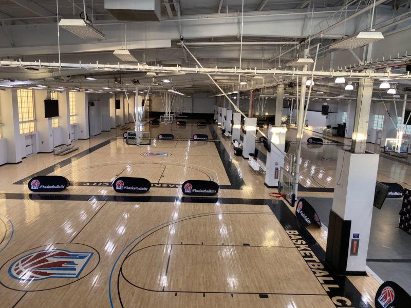 Commercial HVAC Construction of a Sports & Entertainment Venue – Design-build