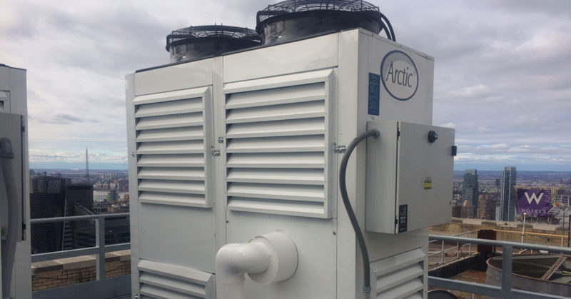 new air cooled chiller