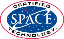 certified space tech logo