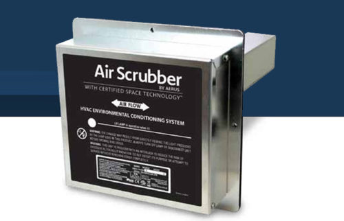 Indoor air quality air scrubber