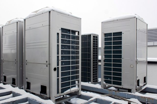 HVAC systems in large commercial buildings