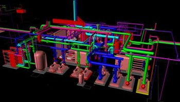 BIM Mechanical Room HVAC