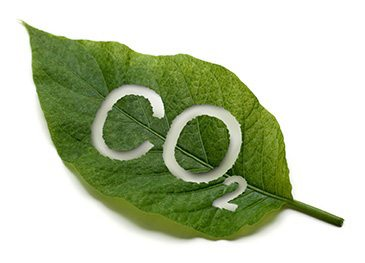 CO2 from greenhouse gases