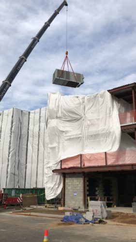 Donnelly Mechanical Crane Delivery