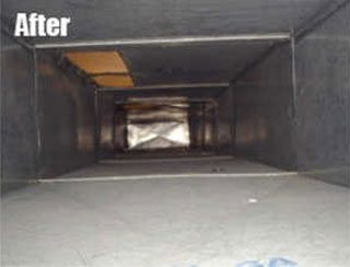 After Indoor Air Quality and Ventilation Service