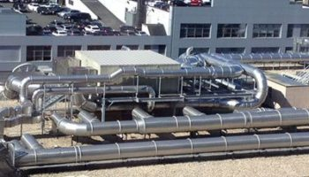 HVAC ductwork, piping and insulation, and control enhancement