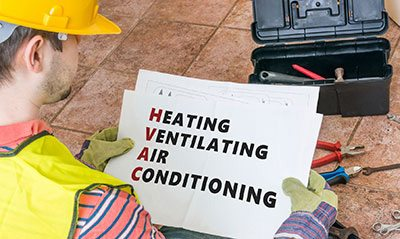 commercial HVAC worker in NYC