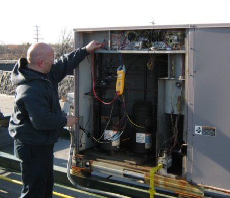 NYC commercial HVAC repair service